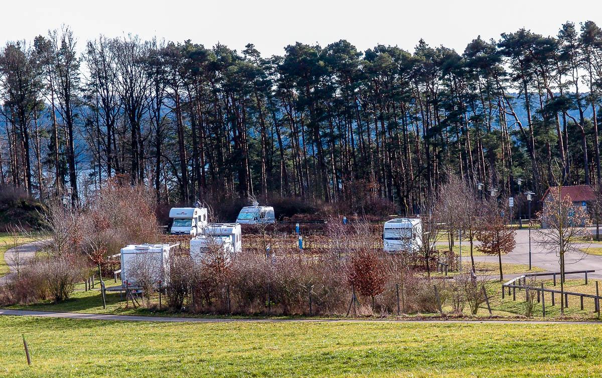 Camping Brombachsee - Wohnmobilstellplatz Igelsbachsee